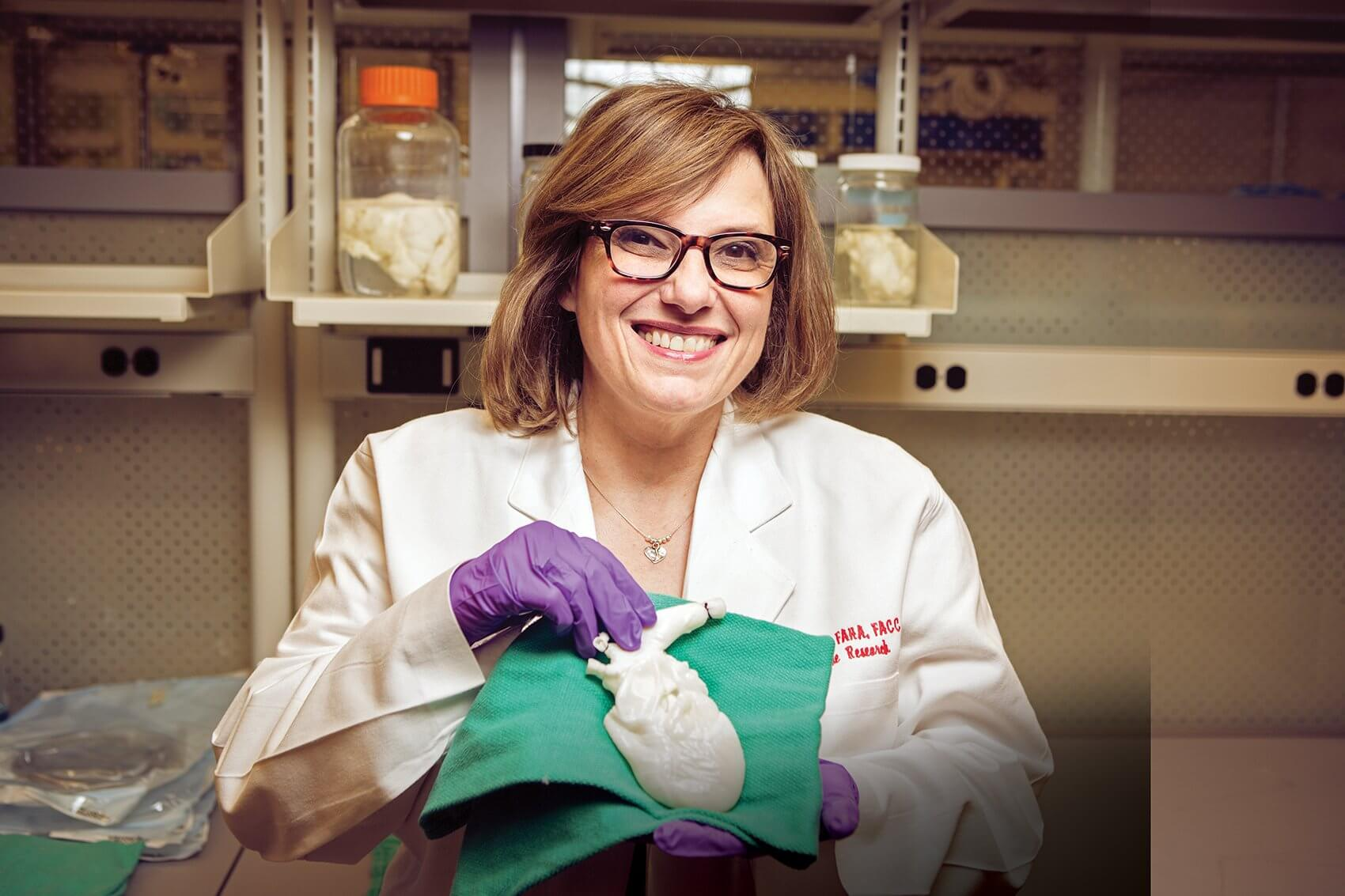 Doris A. Taylor, Ph.D., director of Regenerative Medicine Research at Texas Heart Institute