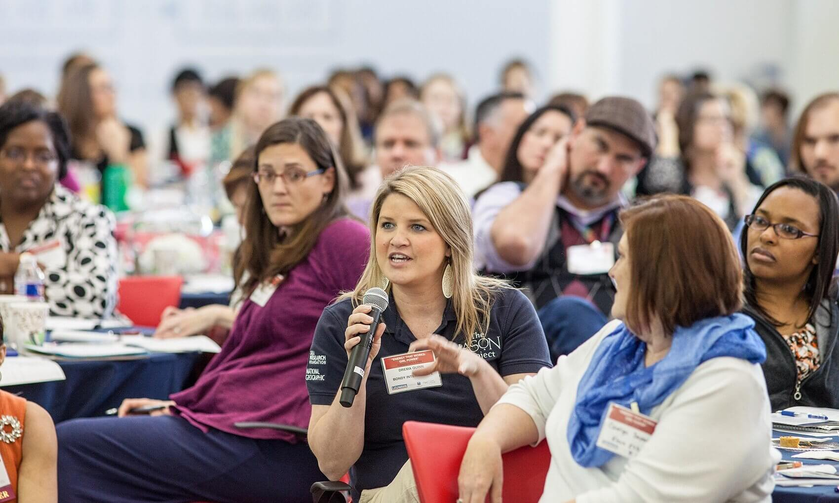 """Entitled, """"Energy That Works: Girl Power,"""" the event brought together community members across a broad range of disciplines to discuss ways to engage girls in science, technology, education and math."""