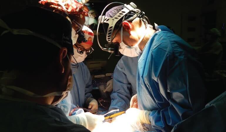 Doctors perform fetal surgery