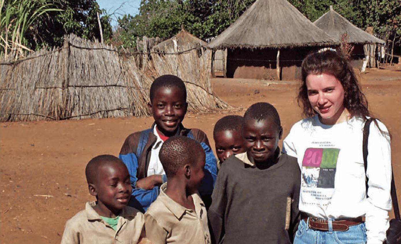 Nancy Calles, R.N., at work in Malawi in 2005. (Credit: Texas Children's hospital)