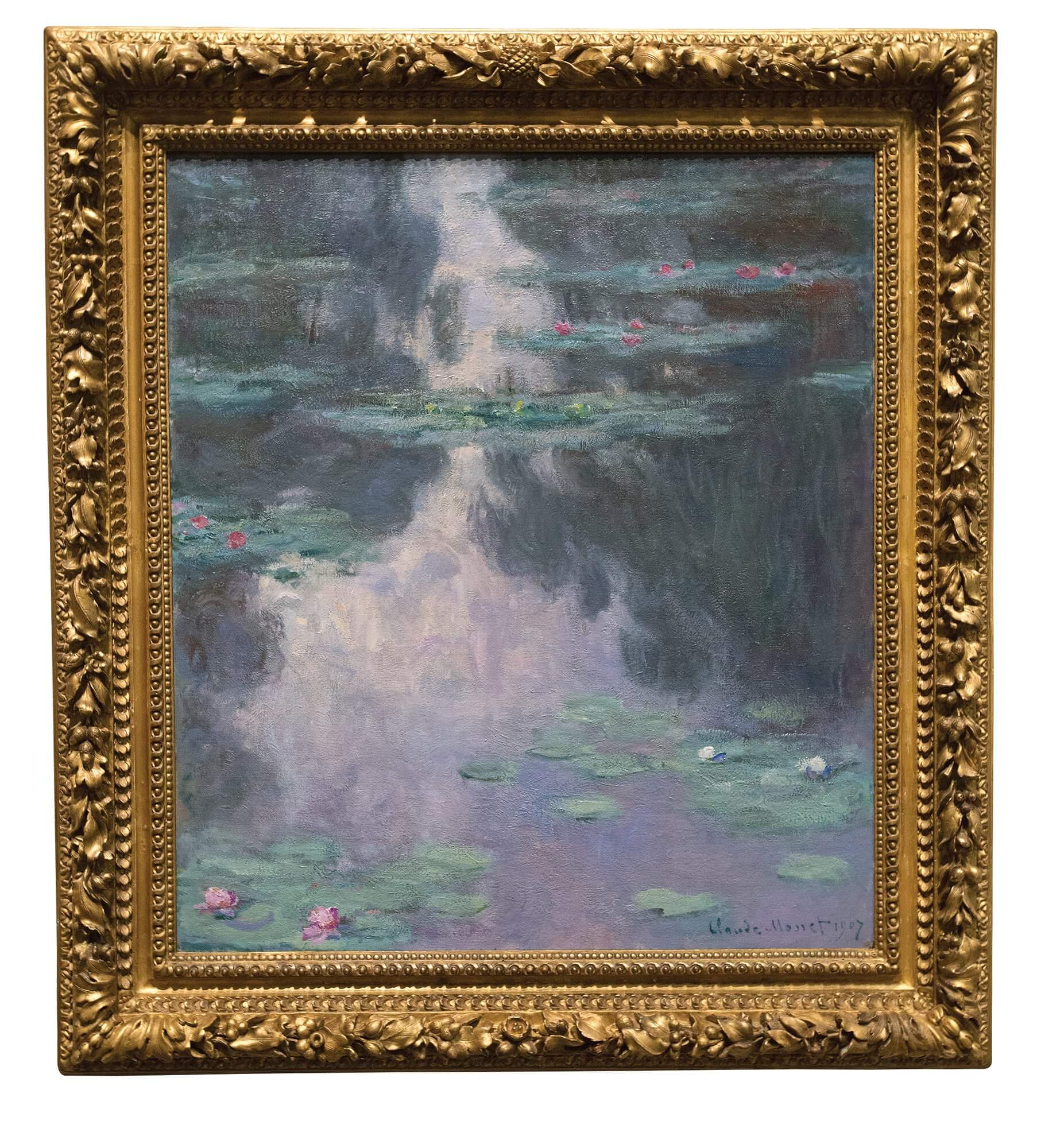 Water Lilies, 1907.