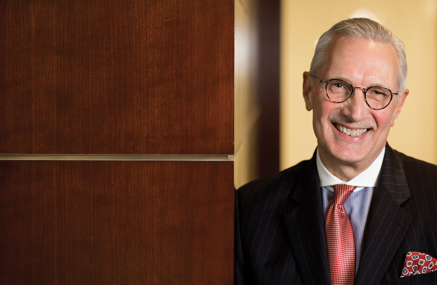 Chuck Stokes is president and CEO of Memorial Hermann Health System and a registered nurse.