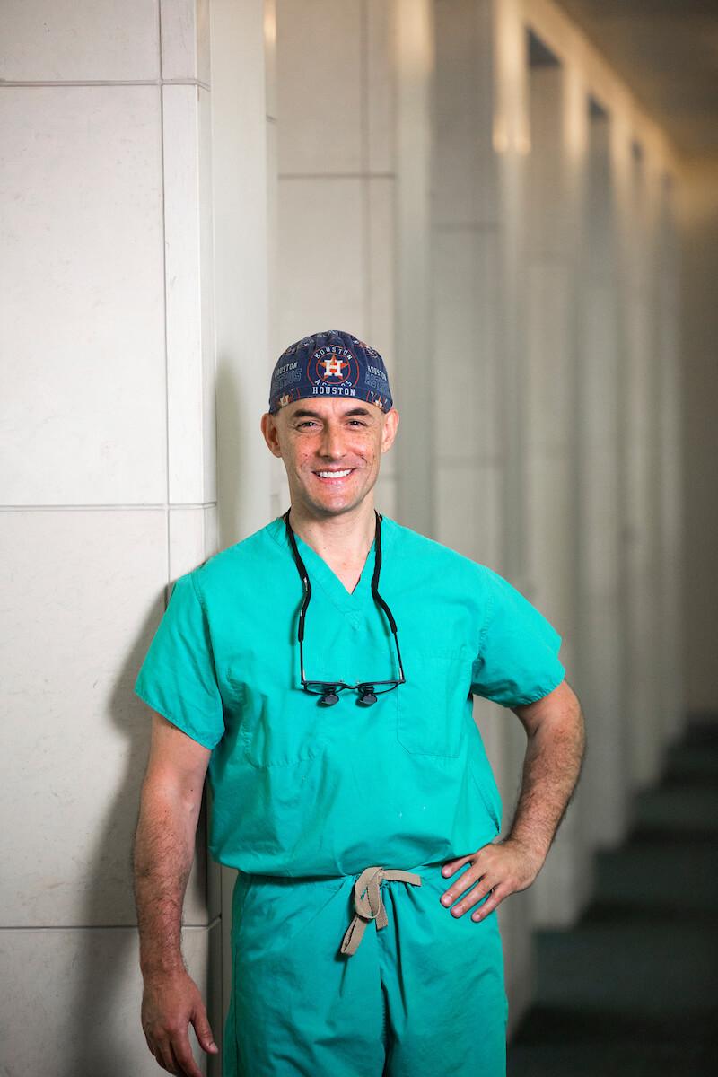Pediatric cardiothoracic surgeon Jorge Salazar, M.D.