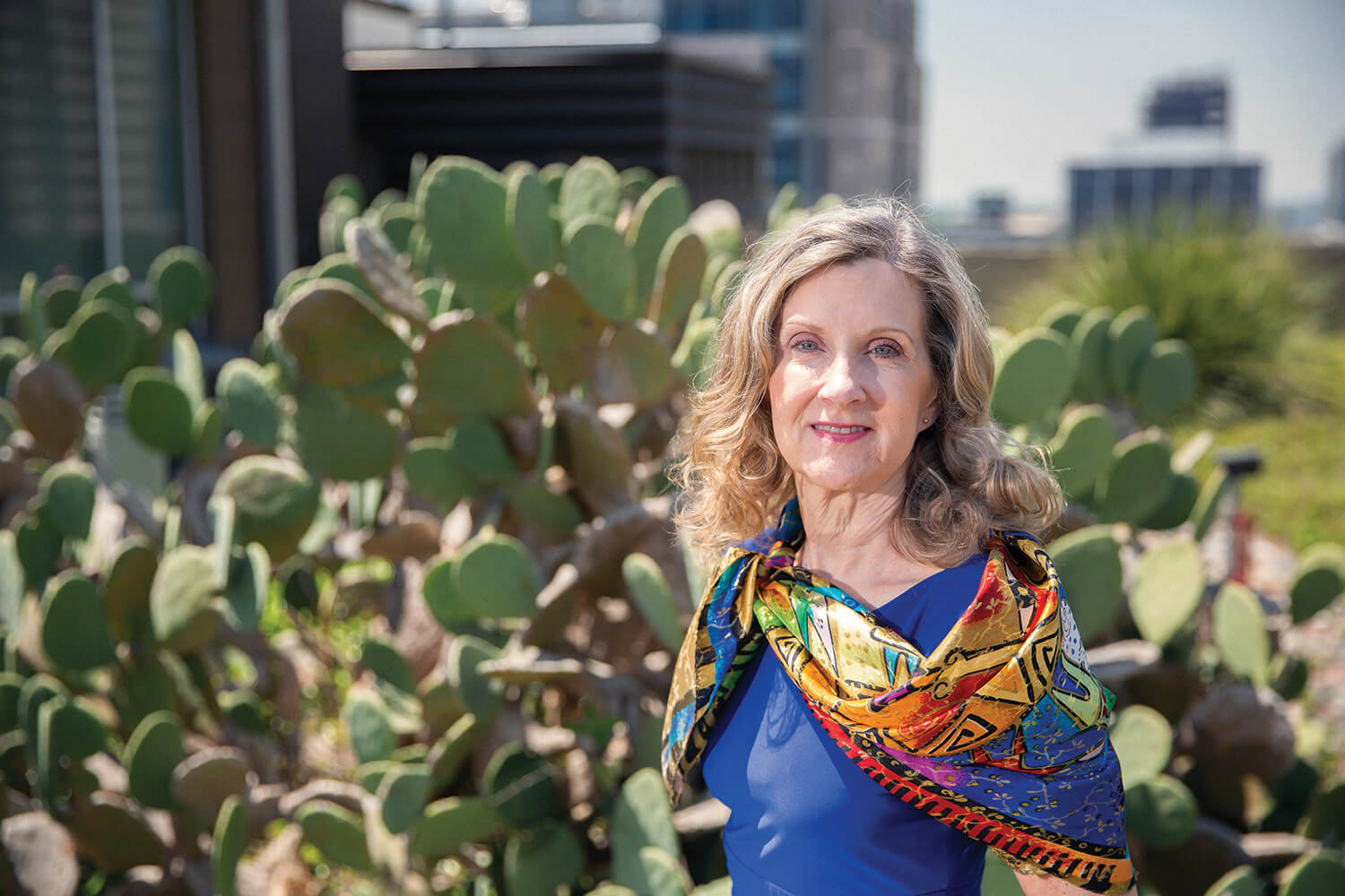 Cathy Rozmus, Ph.D., is vice dean for academic affairs at Cizik School of Nursing at UTHealth.