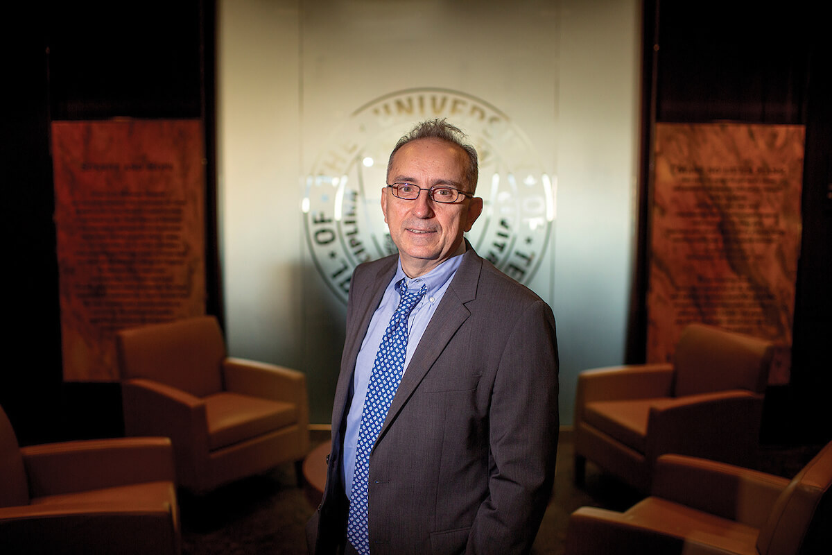 Giulio Draetta, M.D., Ph.D., is chief scientific officer and professor of genomic medicine at The University of Texas MD Anderson Cancer Center.