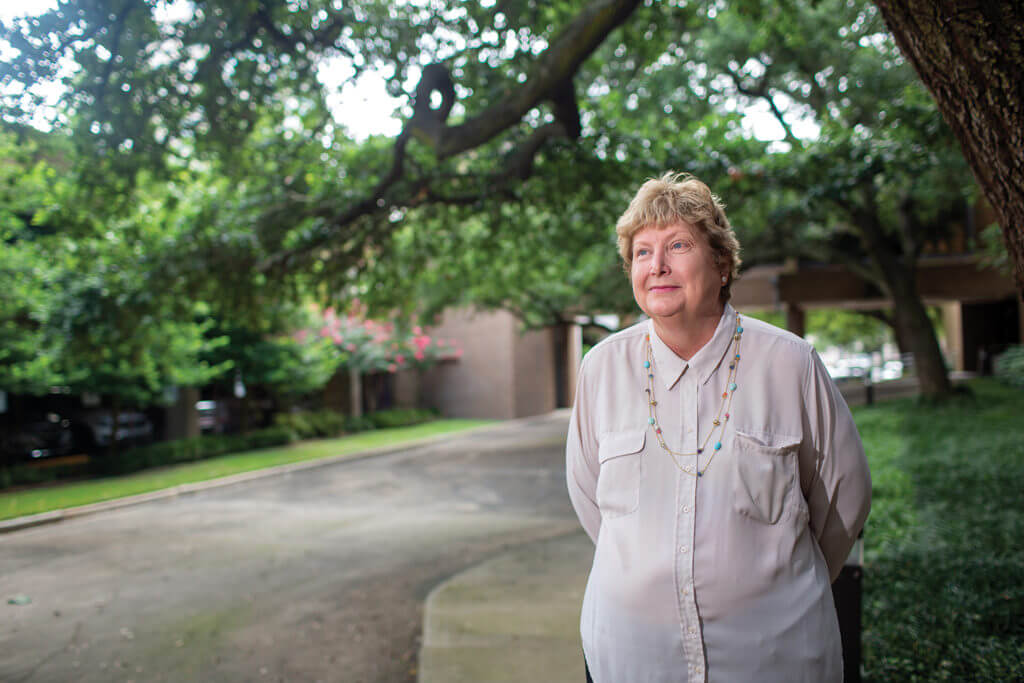 Carol Paret is CEO of Memorial Hermann Community Benefit Corporation, which works with health care providers, government agencies and business leaders to ensure that all Houston-area residents have access to care. Photo by Texas Medical Center/Cody Duty.