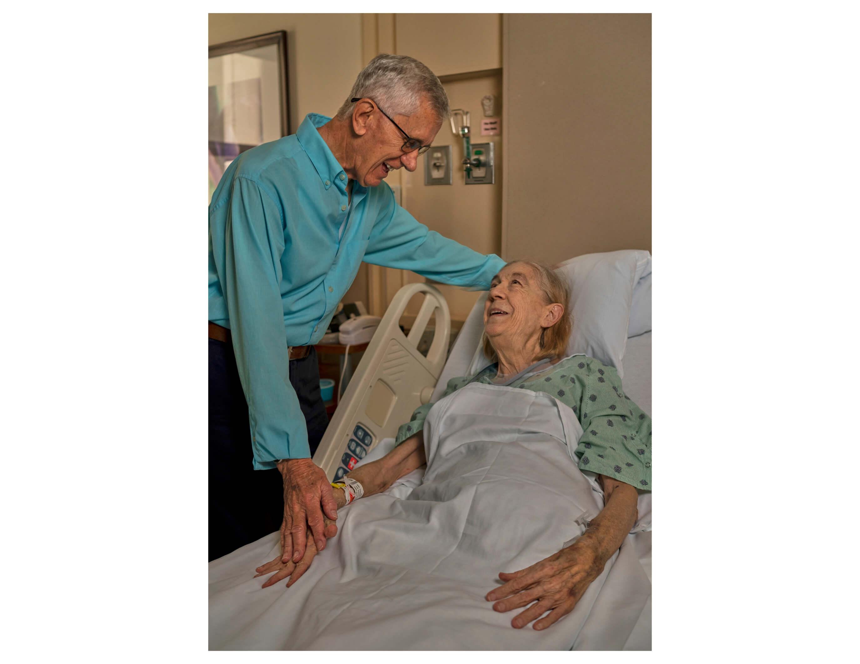 Oldest living kidney donor