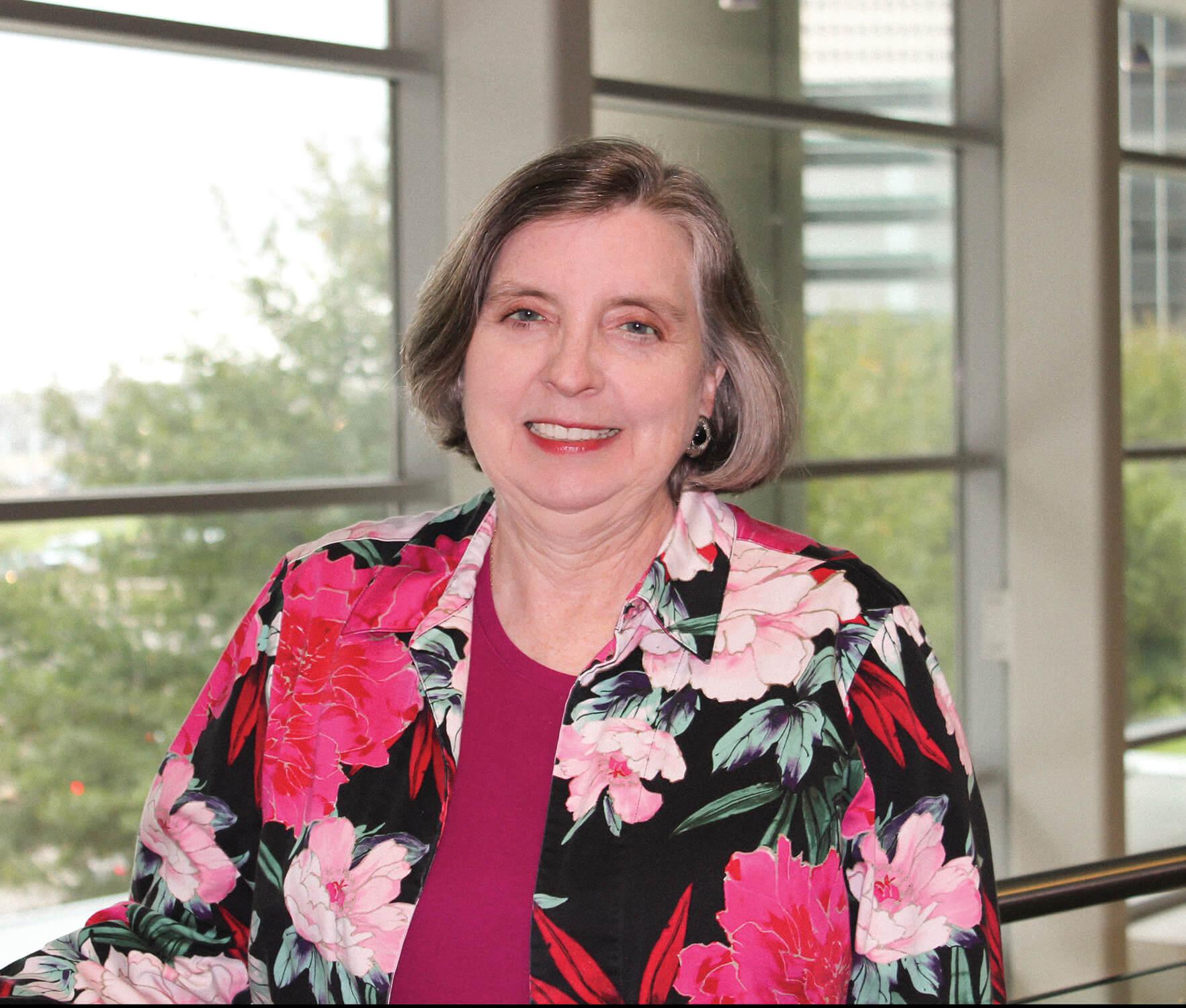 Ainslie Nibert, Ph.D., is associate dean of the Texas Woman's University nursing program in Houston.