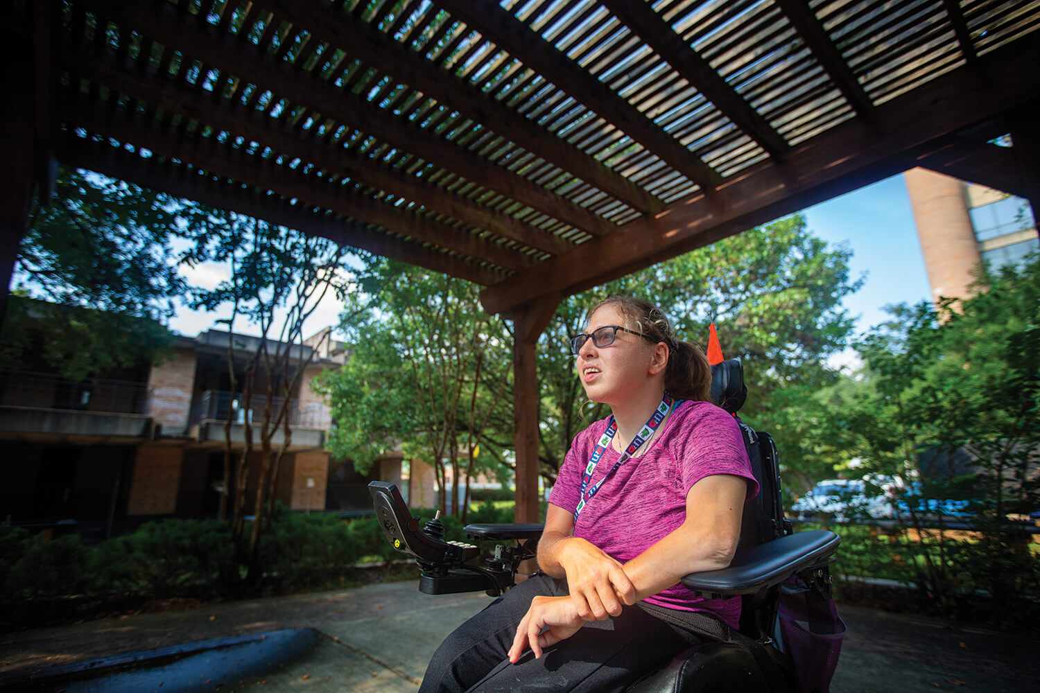Allison Rosenberg is a patient at Baylor College of Medicine's Transition Medicine Clinic.