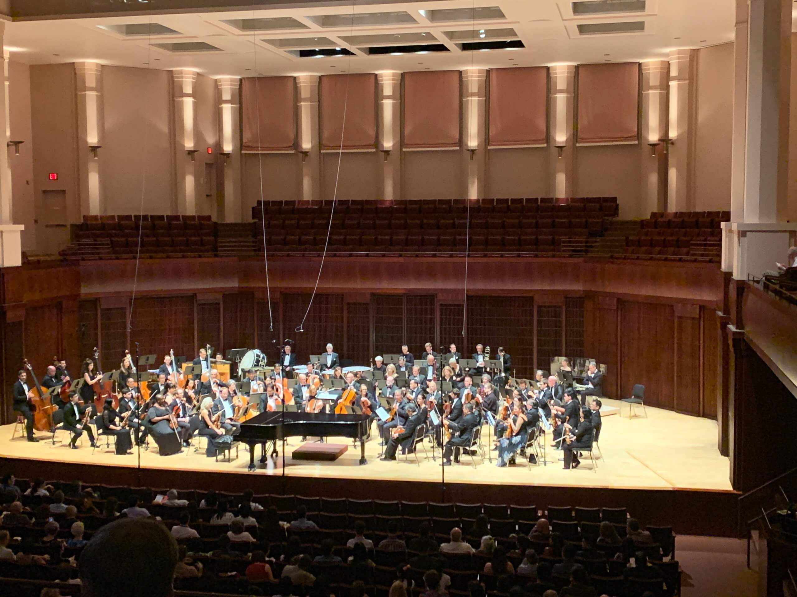 The World Doctors Orchestra took the stage at Stude Music Hall at Rice University.