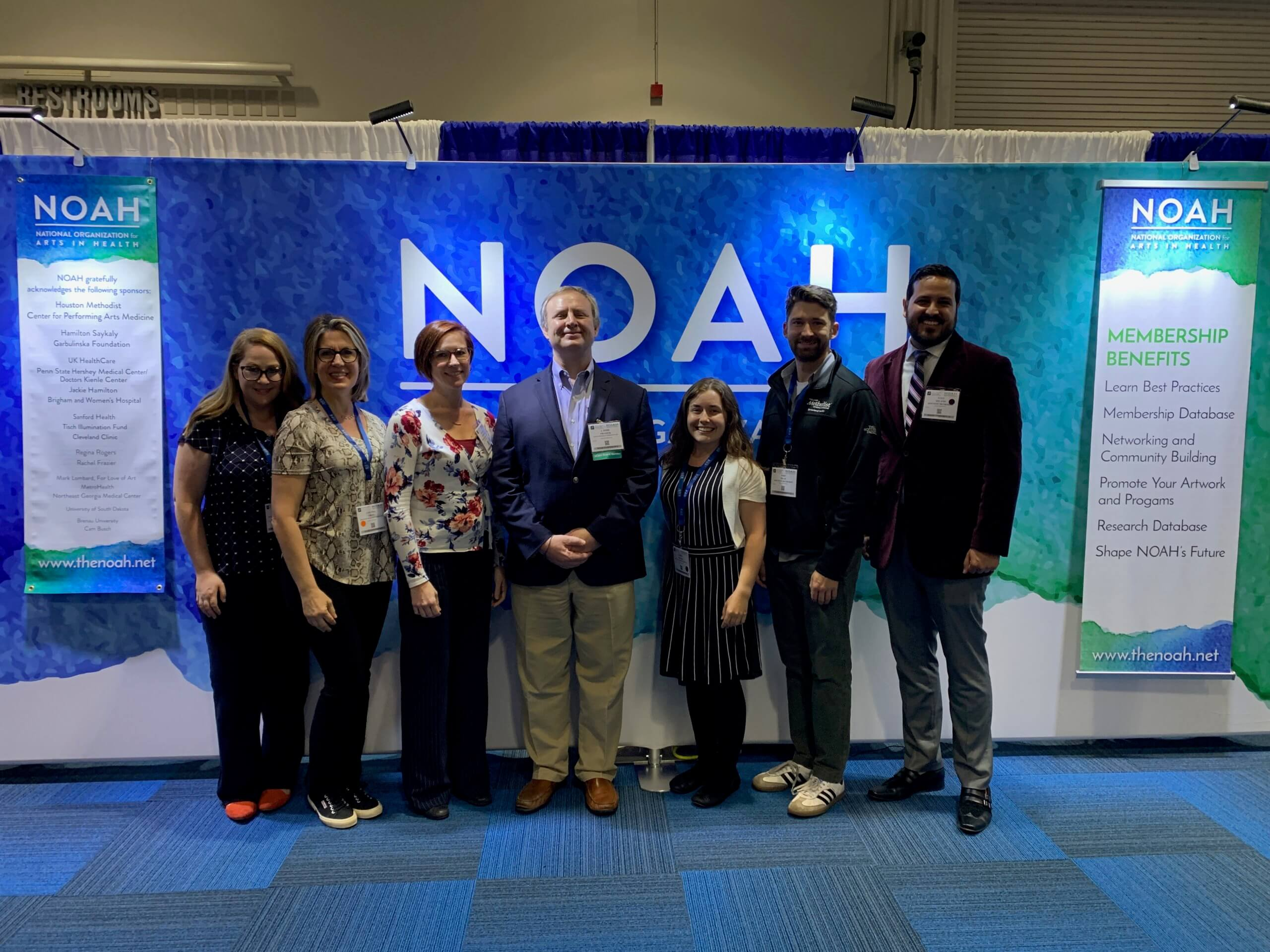 Members of Houston Methodist's Center for Performing Arts Medicine team attended the National Organization for Arts in Health (NOAH) conference.