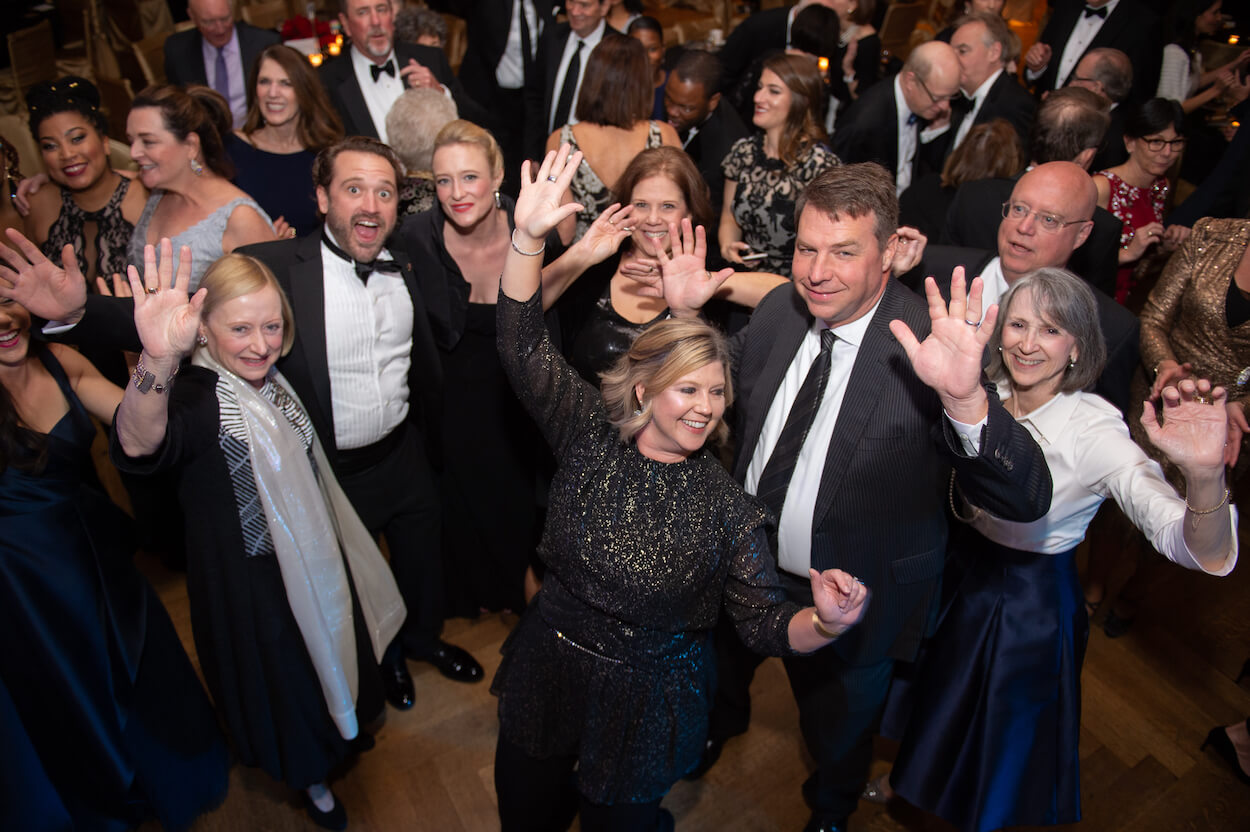 Attendees danced the night away at The Health Museum's 50th anniversary celebration.