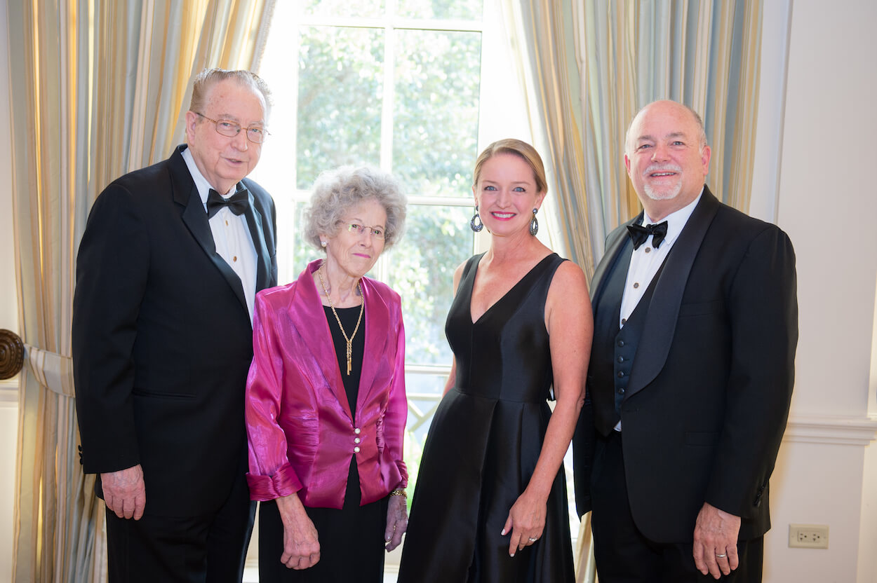 Kenneth Mattox, M.D. and June Mattox, with gala co-chairs Katherine Parsley and Brian Parsley, M.D.