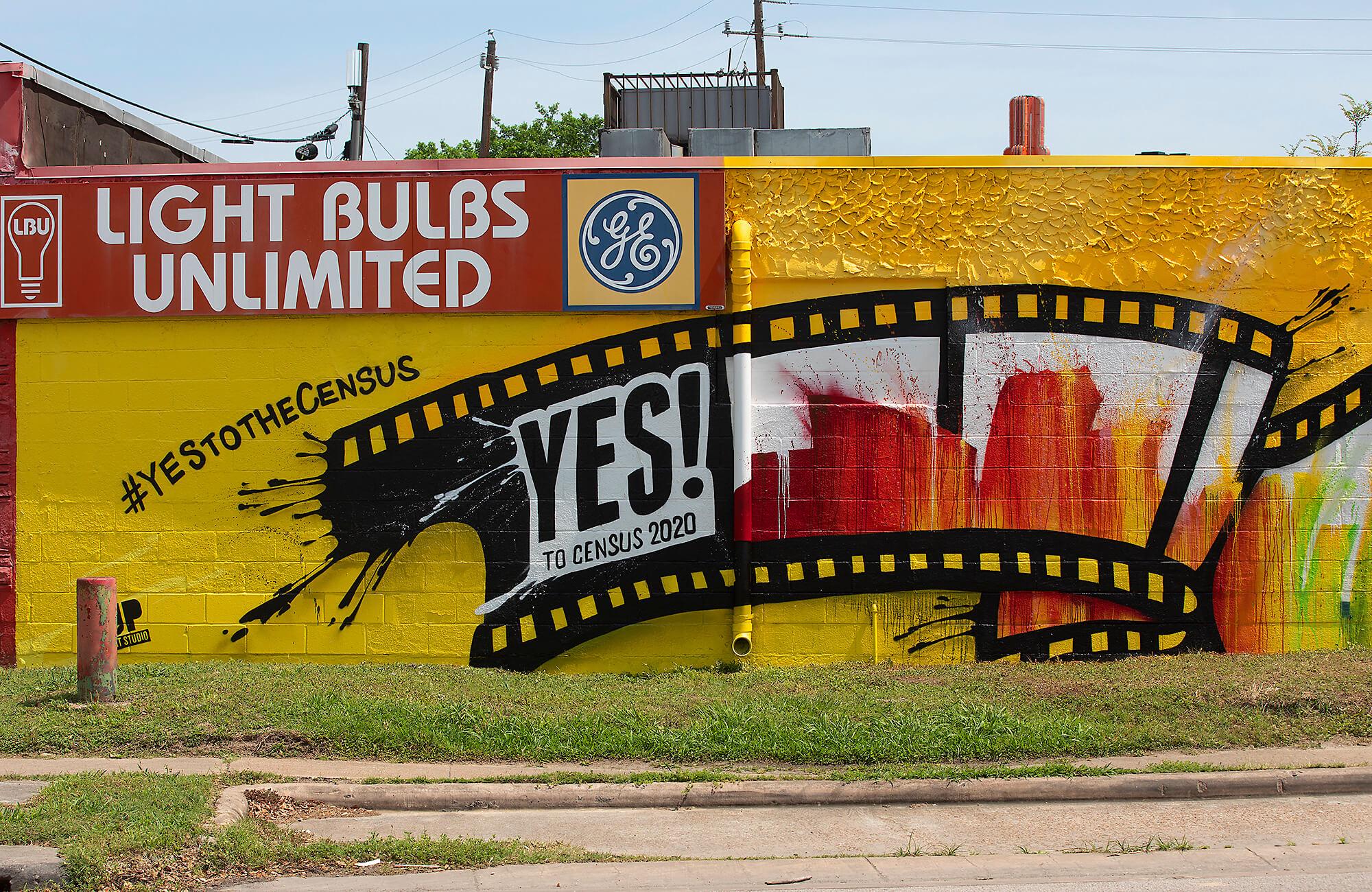 Census 2020 mural