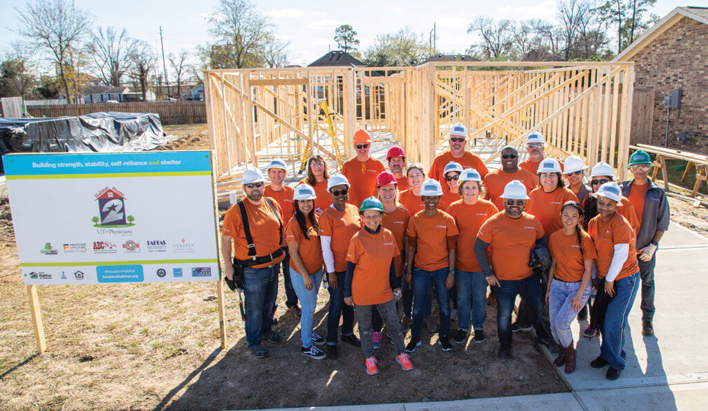 Habitat For Humanity - UT Physicians Build Day-86