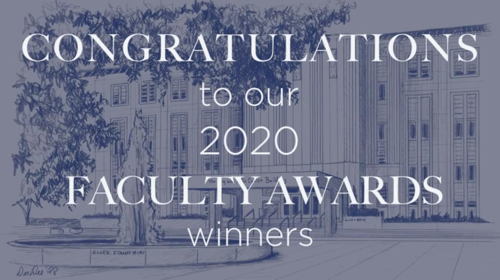 Baylor College of Medicine 2020 Faculty Awards