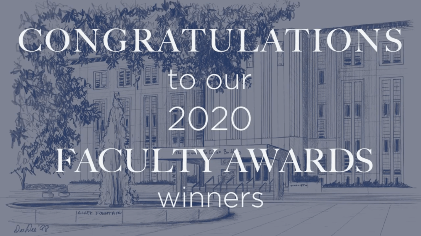 Baylor College of Medicine 2020 Faculty Awards