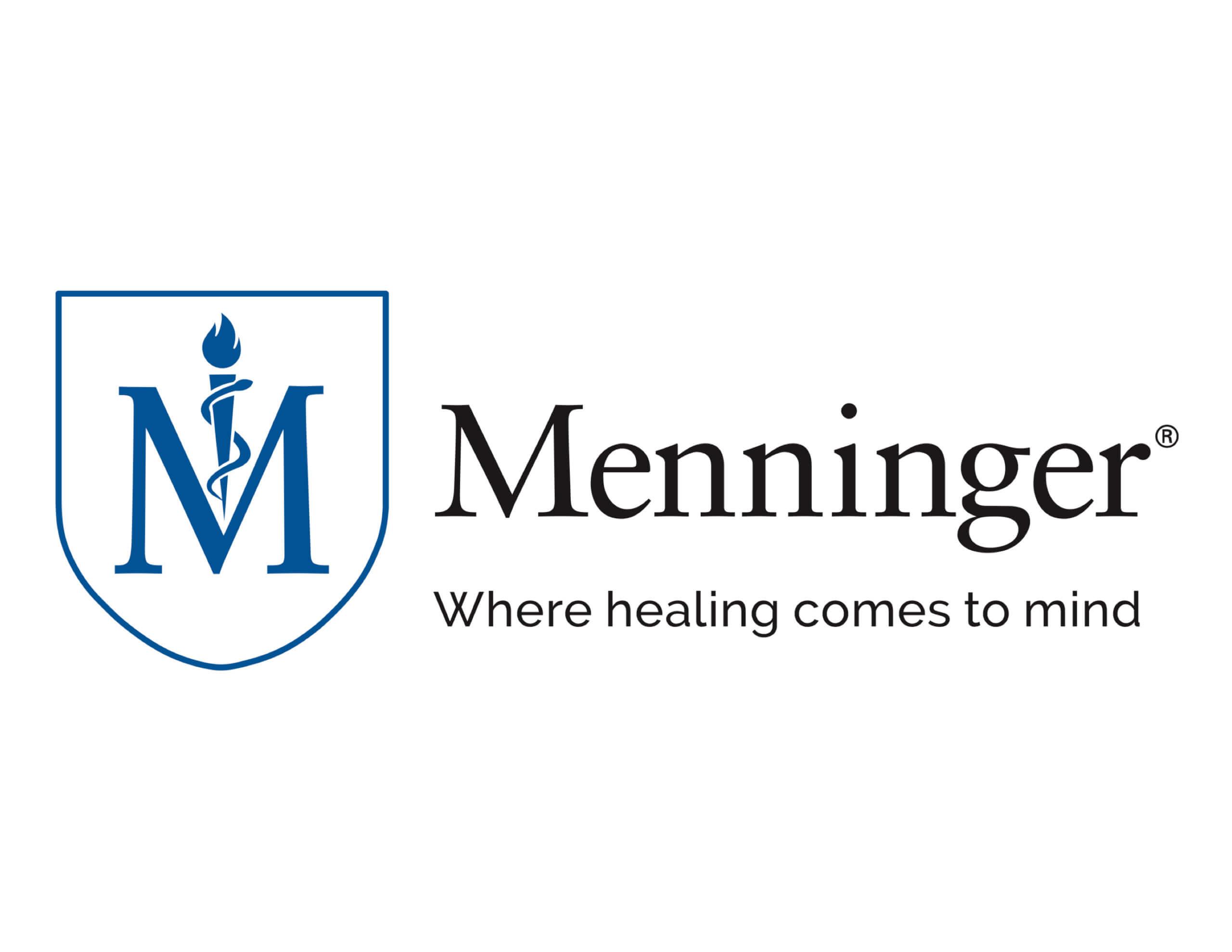 Menninger logo with tagline w: borders Sept2020 high-res