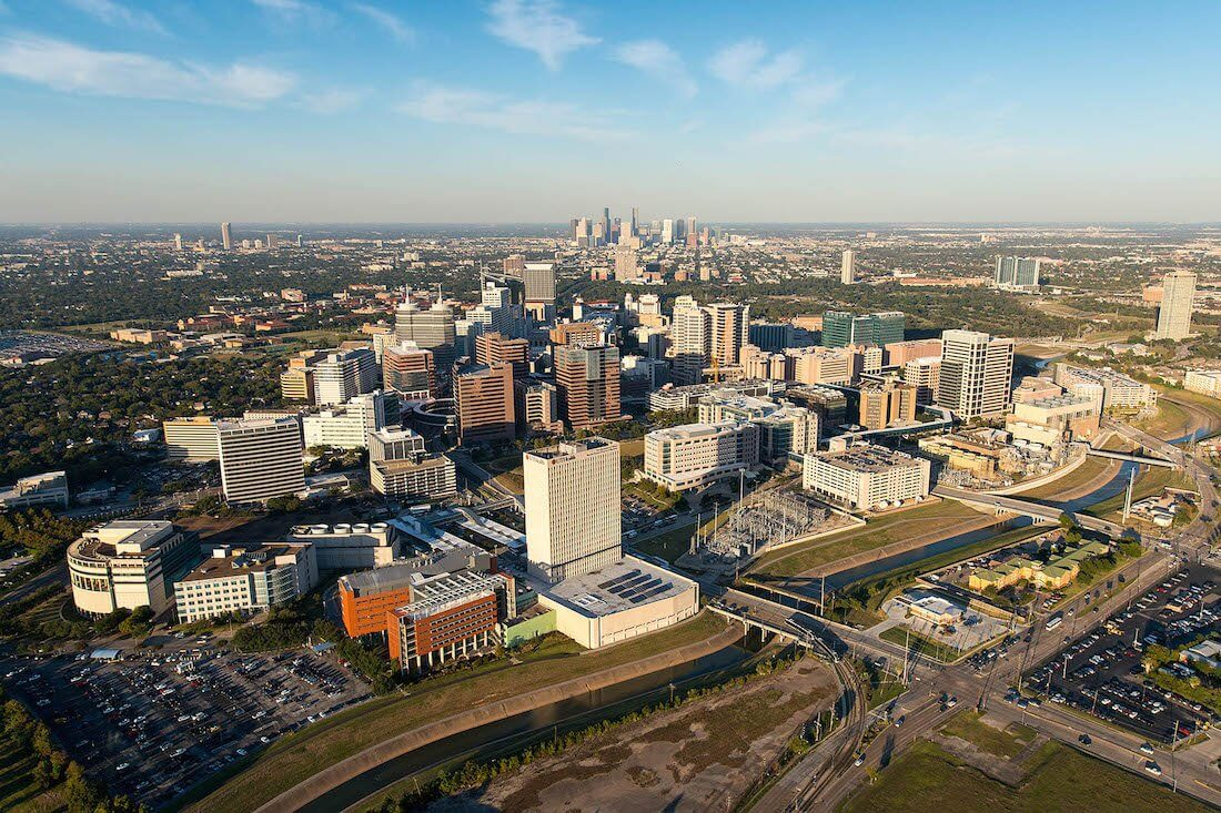 Map Of Texas Medical Center.Medical Center Parking Lots Texas Medical Center Houston